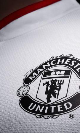 18534 descargar fondo de pantalla Deportes, Fondo, Logos, Fútbol, Manchester United: protectores de pantalla e imágenes gratis