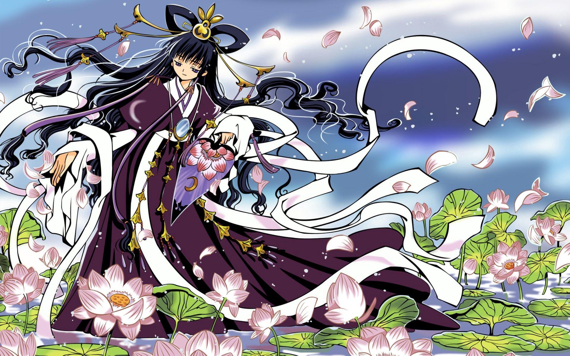 125232壁紙のダウンロード日本製アニメ, 女の子, 着物, ドレス-スクリーンセーバーと写真を無料で