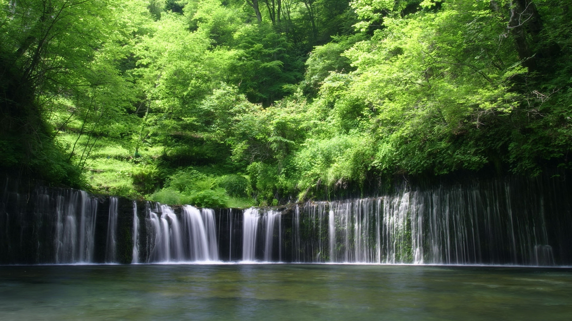 29634 download wallpaper Landscape, Waterfalls screensavers and pictures for free