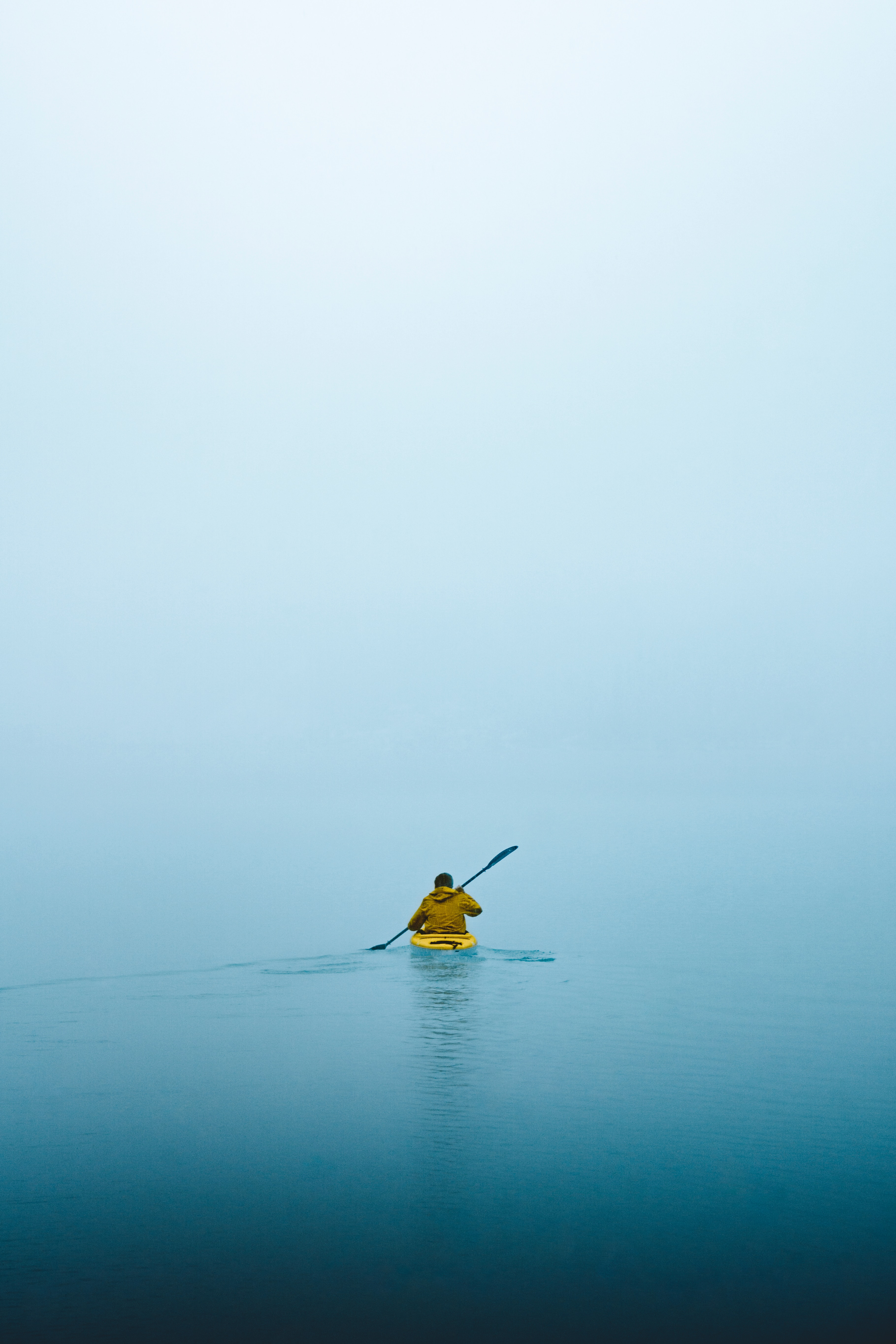 120204 Screensavers and Wallpapers Boat for phone. Download Water, Fog, Minimalism, Boat pictures for free