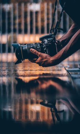 135522 Protetores de tela e papéis de parede Miscelânea em seu telefone. Baixe Miscelânea, Variado, Câmera, Fotógrafo, Mãos, Passatempo fotos gratuitamente