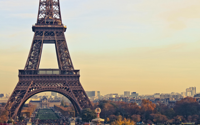 20701 скачать обои Пейзаж, Города, Архитектура, Париж, Эйфелева Башня - заставки и картинки бесплатно