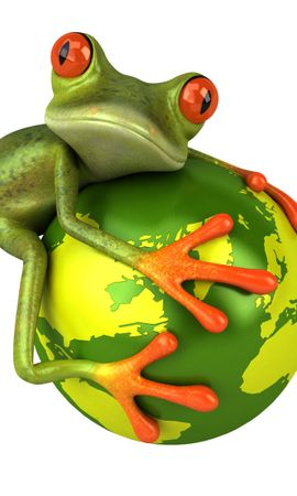 13843 download wallpaper Funny, Animals, Frogs screensavers and pictures for free