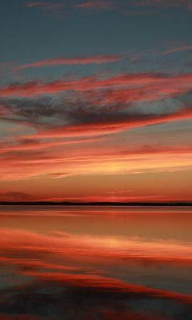 14866 скачать обои Пейзаж, Закат, Небо, Море - заставки и картинки бесплатно