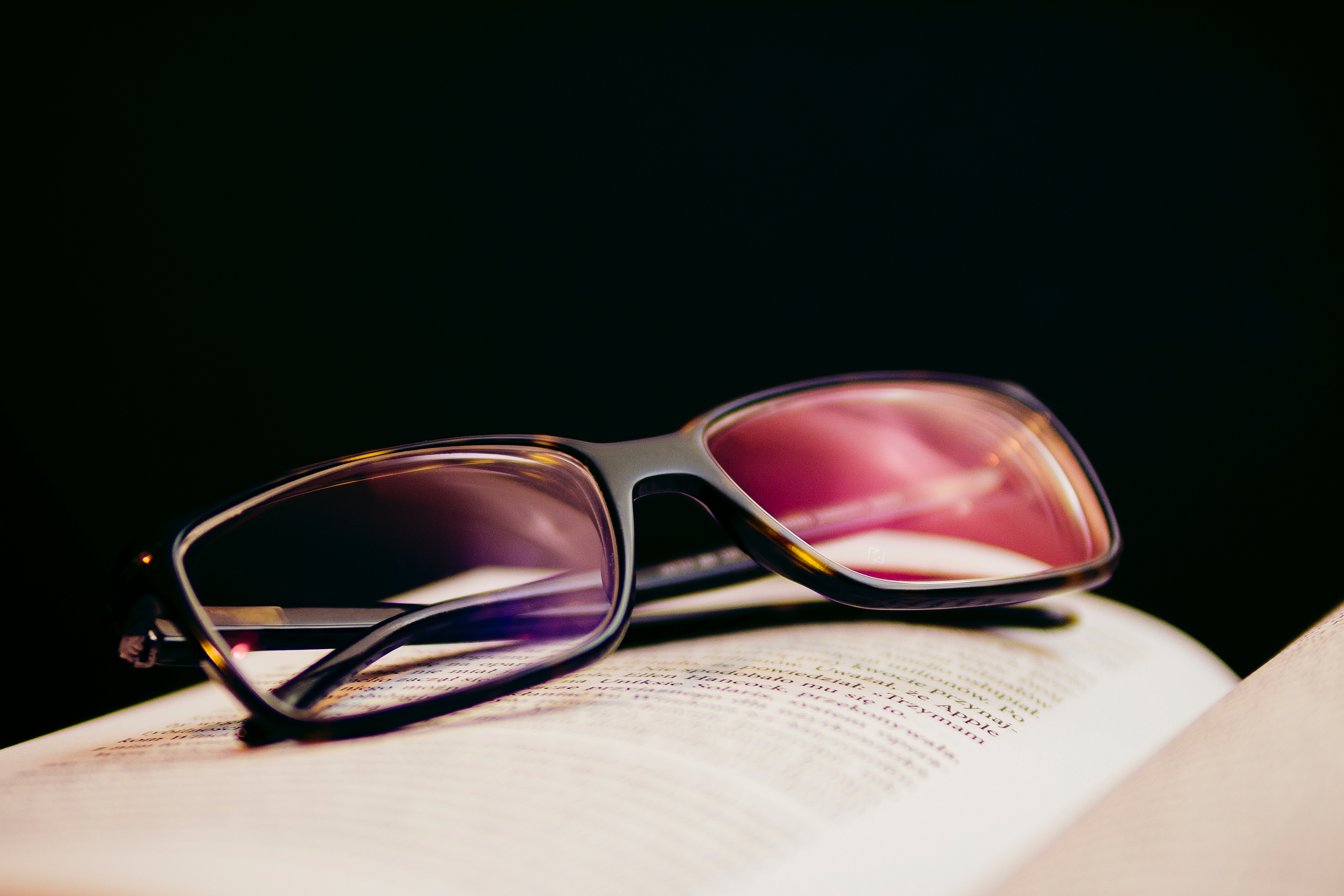 74219 download wallpaper Miscellanea, Miscellaneous, Book, Lenses, Glasses, Spectacles, Diopter screensavers and pictures for free