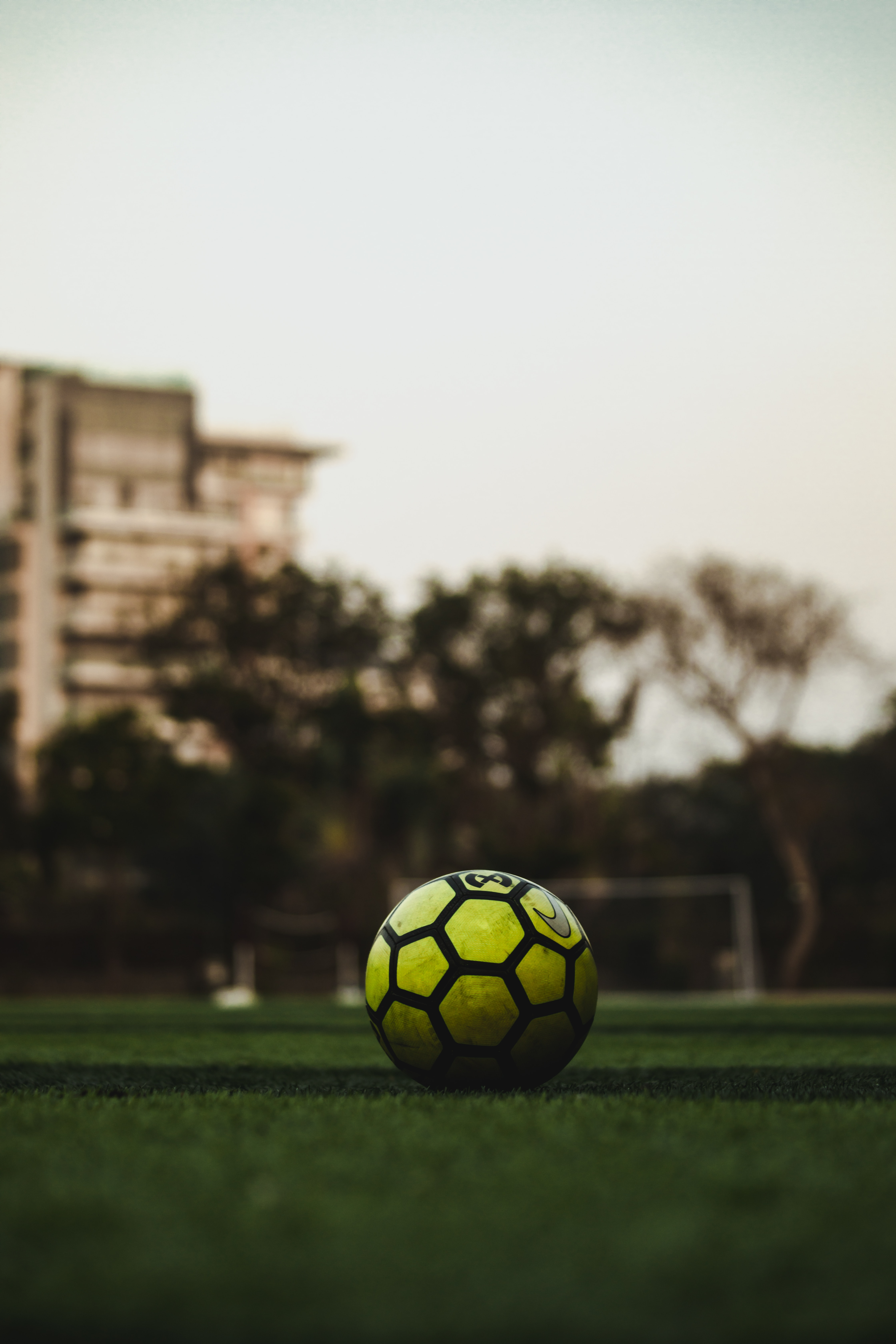 144833 download wallpaper Football, Sports, Grass, Ball, Lawn, Soccer Ball screensavers and pictures for free