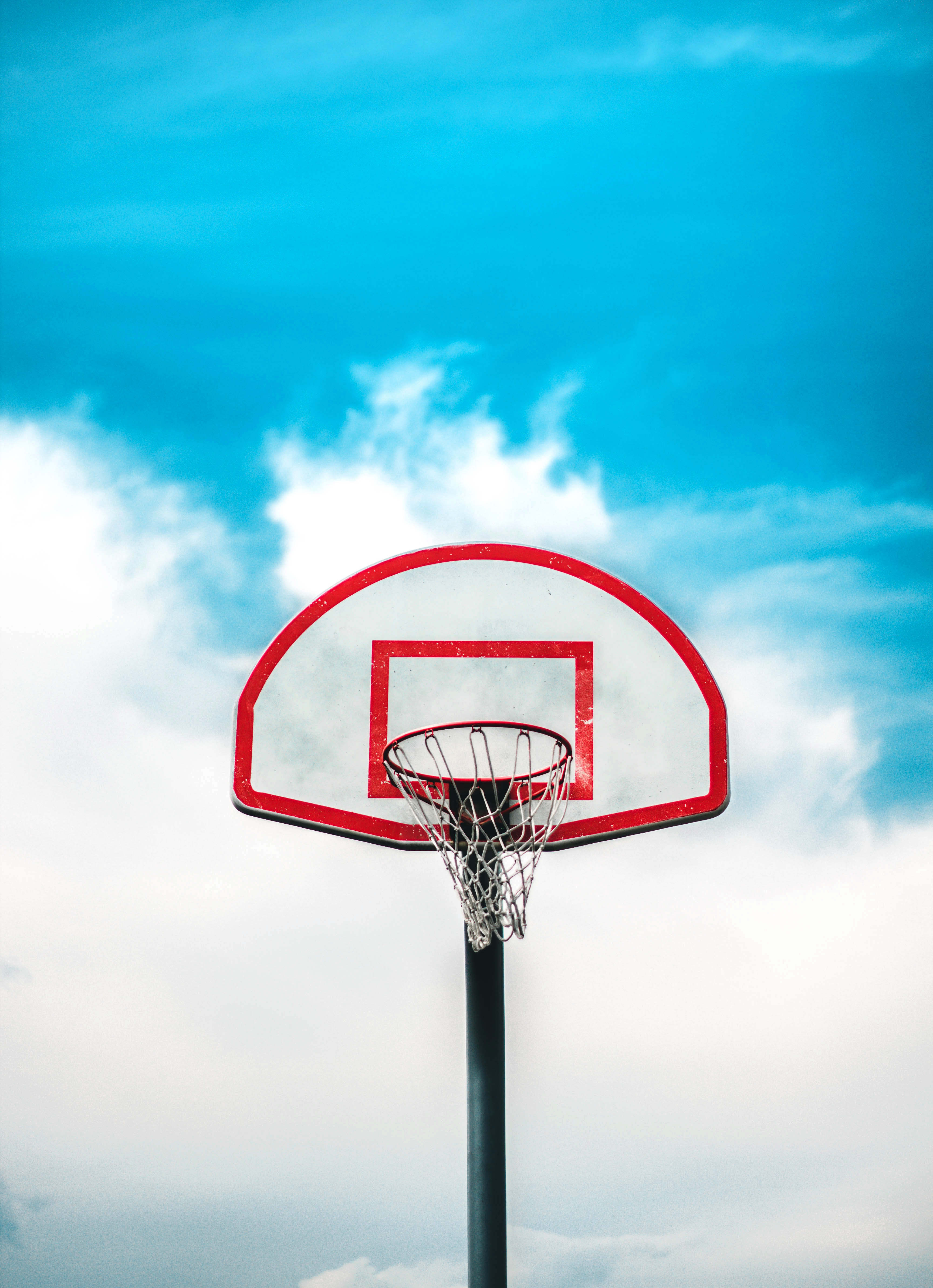 64061 Screensavers and Wallpapers Basketball for phone. Download Sports, Basketball Hoop, Basketball Ring, Shield, Grid, Sky, Basketball pictures for free