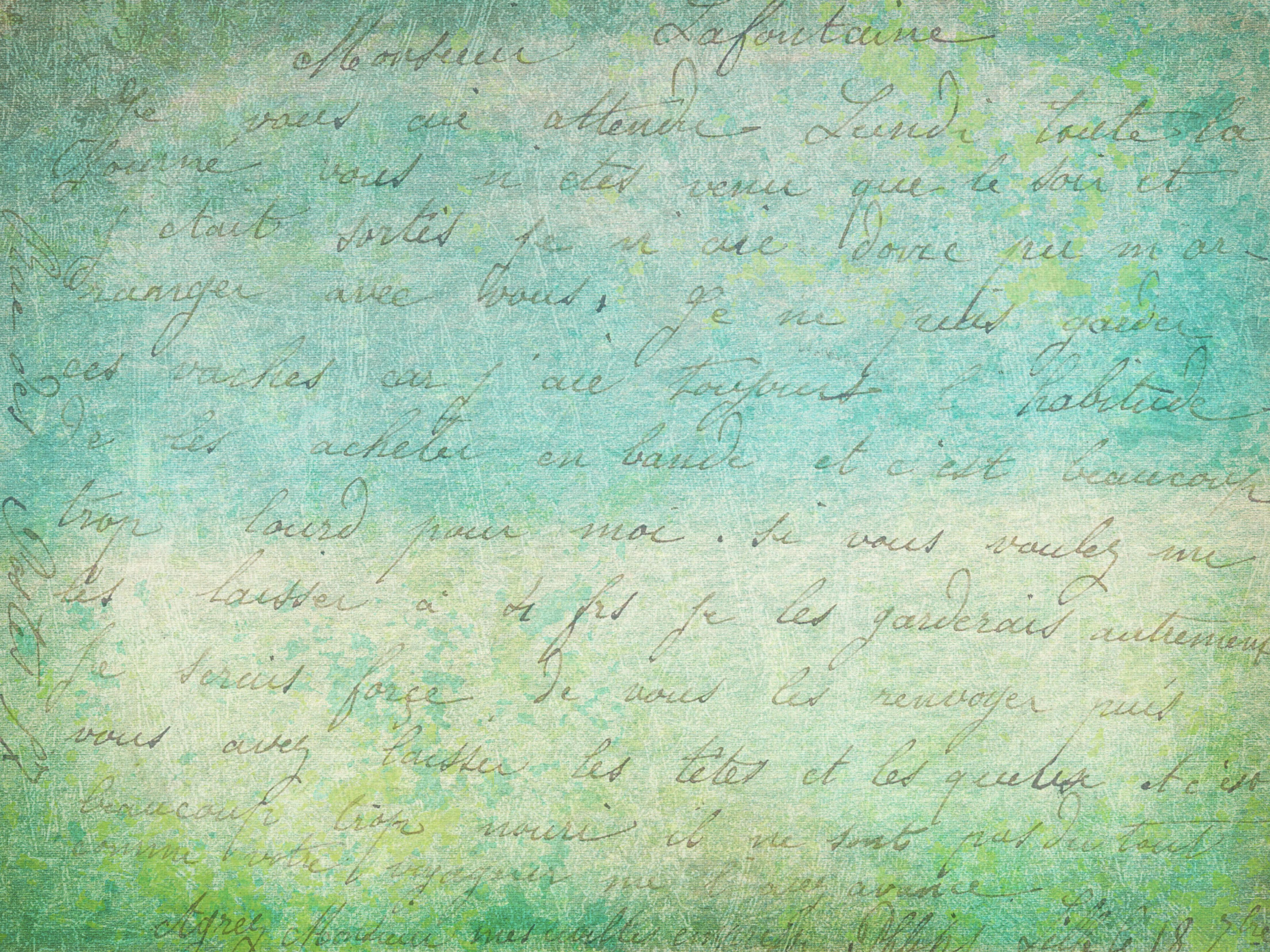 95614 Hintergrundbild herunterladen Papier, Textur, Texturen, Text, Brief, Kalligraphie - Bildschirmschoner und Bilder kostenlos