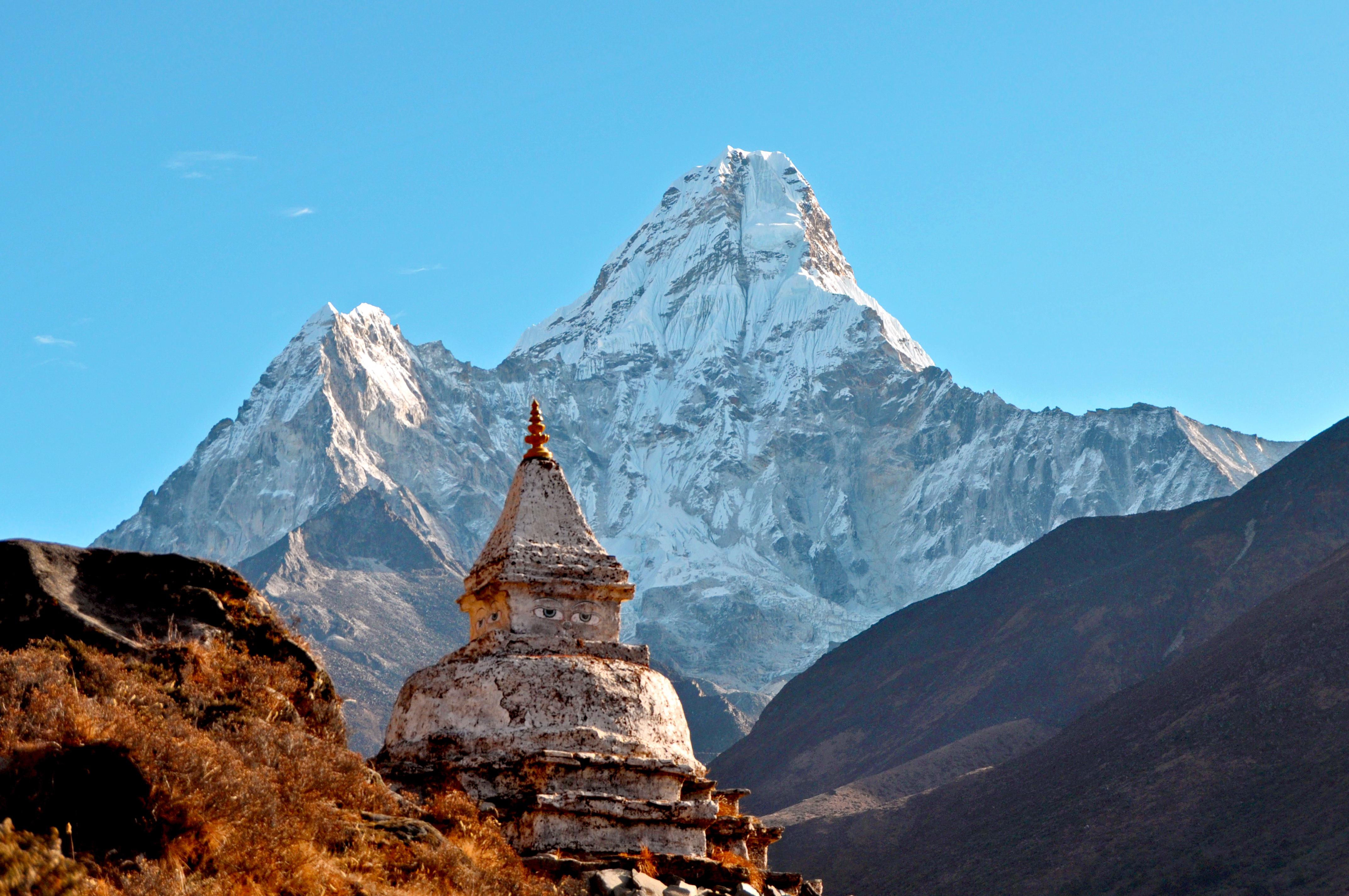 72647 免費下載壁紙 性质, 喜马拉雅山, 吉马来, 阿玛达布拉姆, 阿玛双, 寺庙, 神殿, 山 屏保和圖片