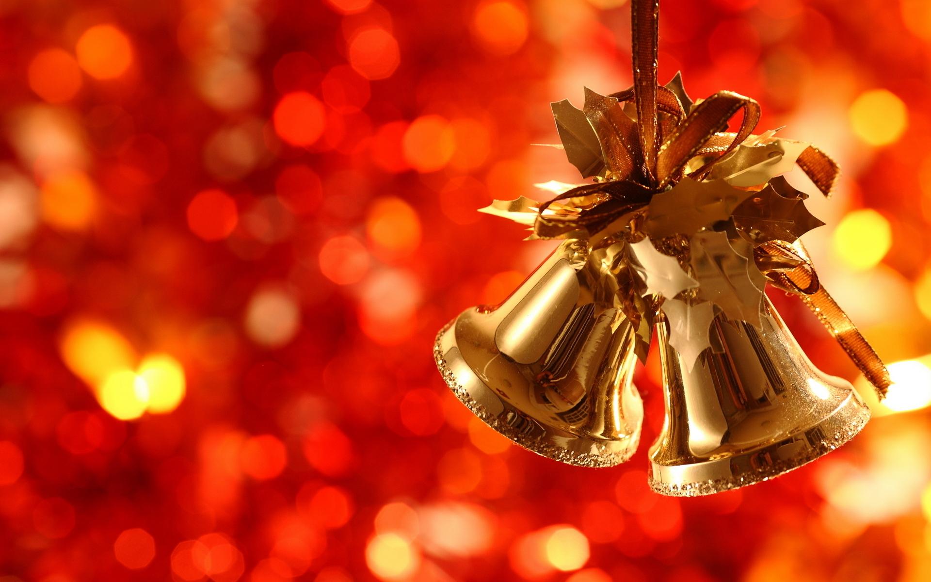 15573 скачать обои Праздники, Новый Год (New Year), Рождество (Christmas, Xmas), Колокольчики - заставки и картинки бесплатно