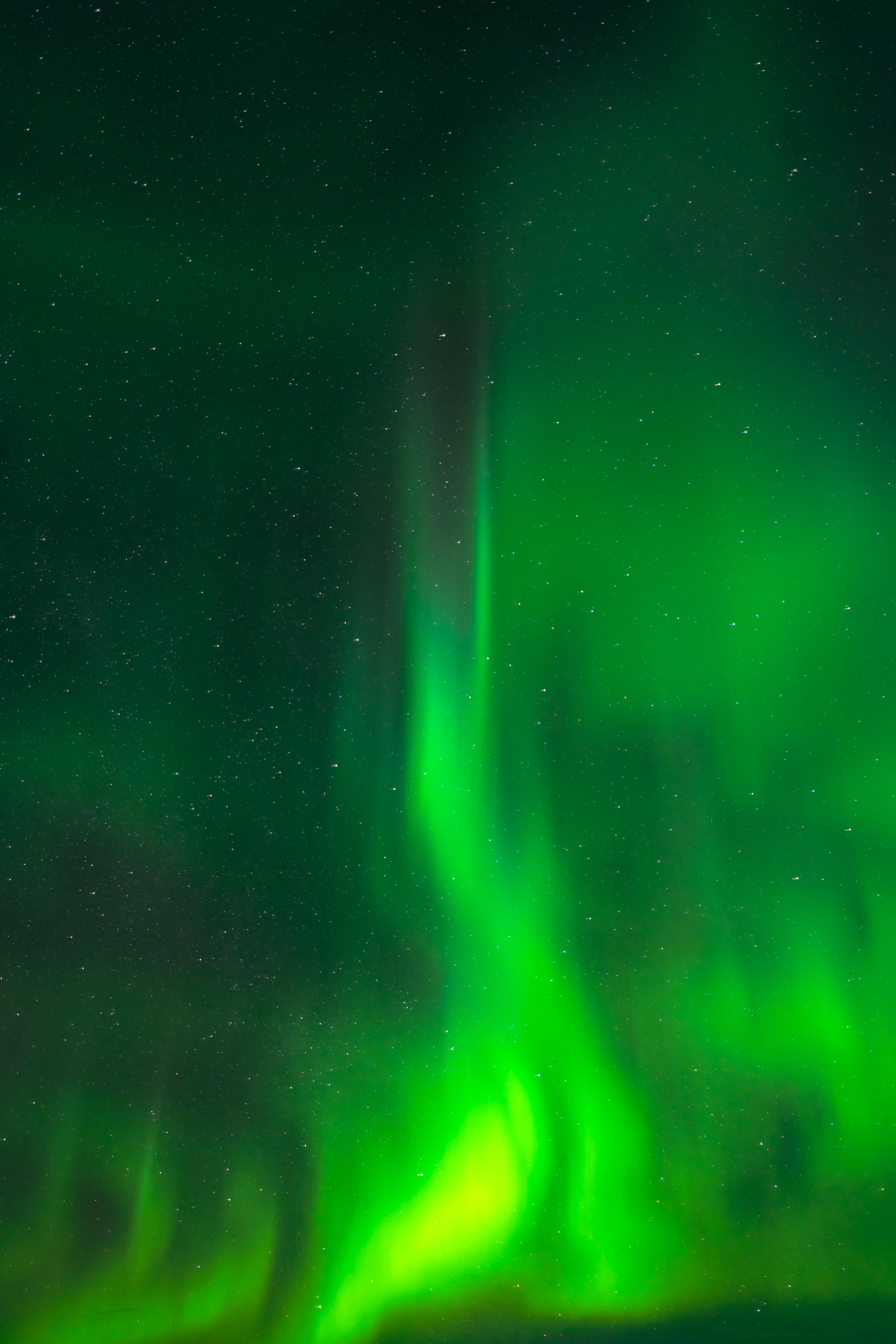 90869 télécharger le fond d'écran Sky, Nature, Nuit, Briller, Lumière, Aurores Boréales, Aurore Boréale - économiseurs d'écran et images gratuitement