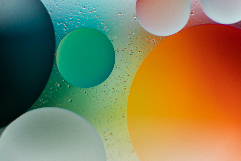 57226 fond d'écran 1080x2340 sur votre téléphone gratuitement, téléchargez des images Formes, Abstrait, Eau, Bubbles, Cercles, Forme, Pente 1080x2340 sur votre mobile
