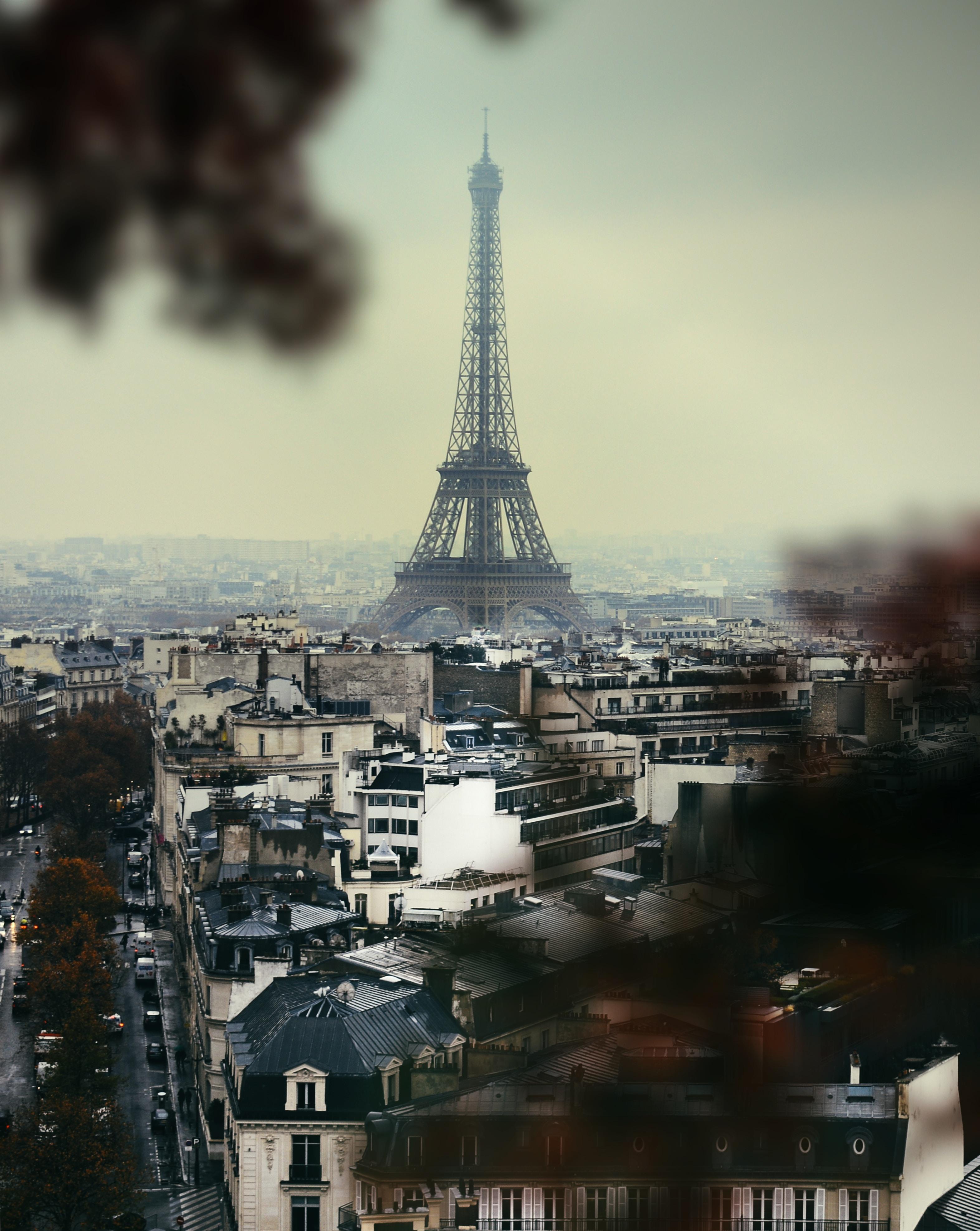 96060 télécharger le fond d'écran Ville, Vue D'en-Haut, Vue D'En Haut, Paris, L'architecture, Villes, Tour Eiffel - économiseurs d'écran et images gratuitement