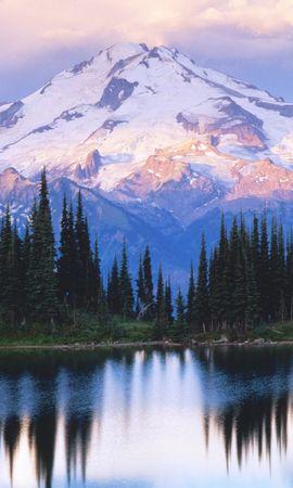 44629 télécharger le fond d'écran Paysage, Nature, Montagnes, Neige - économiseurs d'écran et images gratuitement