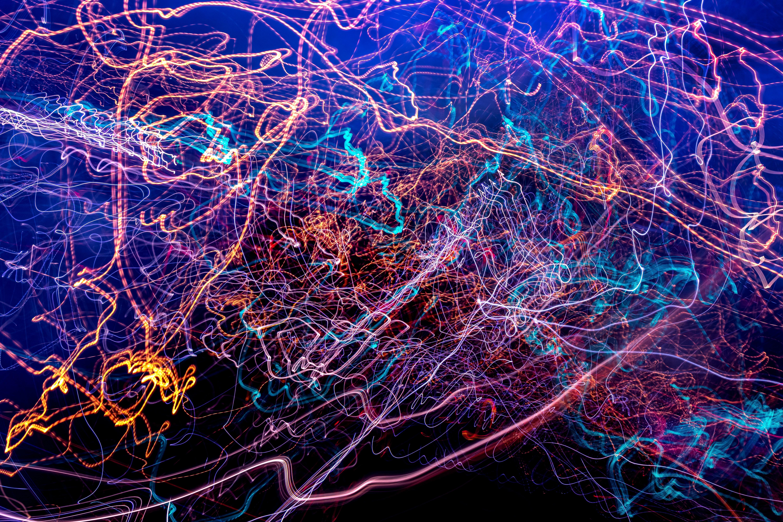 155503 fond d'écran 1080x2400 sur votre téléphone gratuitement, téléchargez des images Abstrait, Briller, Lumière, Multicolore, Hétéroclite, Lignes, Embrouillé, Complexe 1080x2400 sur votre mobile
