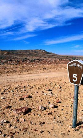 28004 скачать обои Пейзаж, Дороги, Облака, Пустыня - заставки и картинки бесплатно