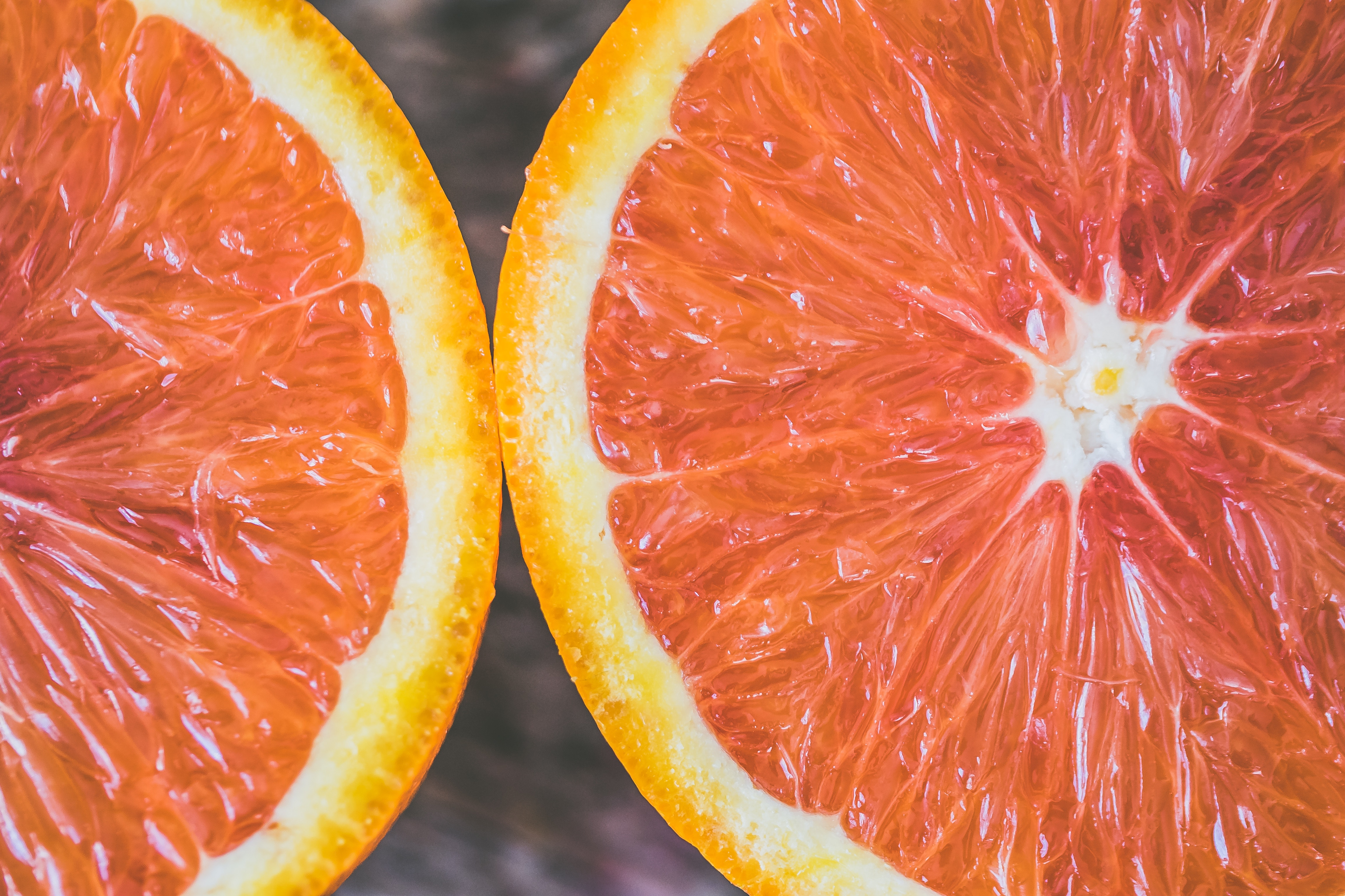 109562 download wallpaper Food, Citrus, Ripe, Slice, Section screensavers and pictures for free