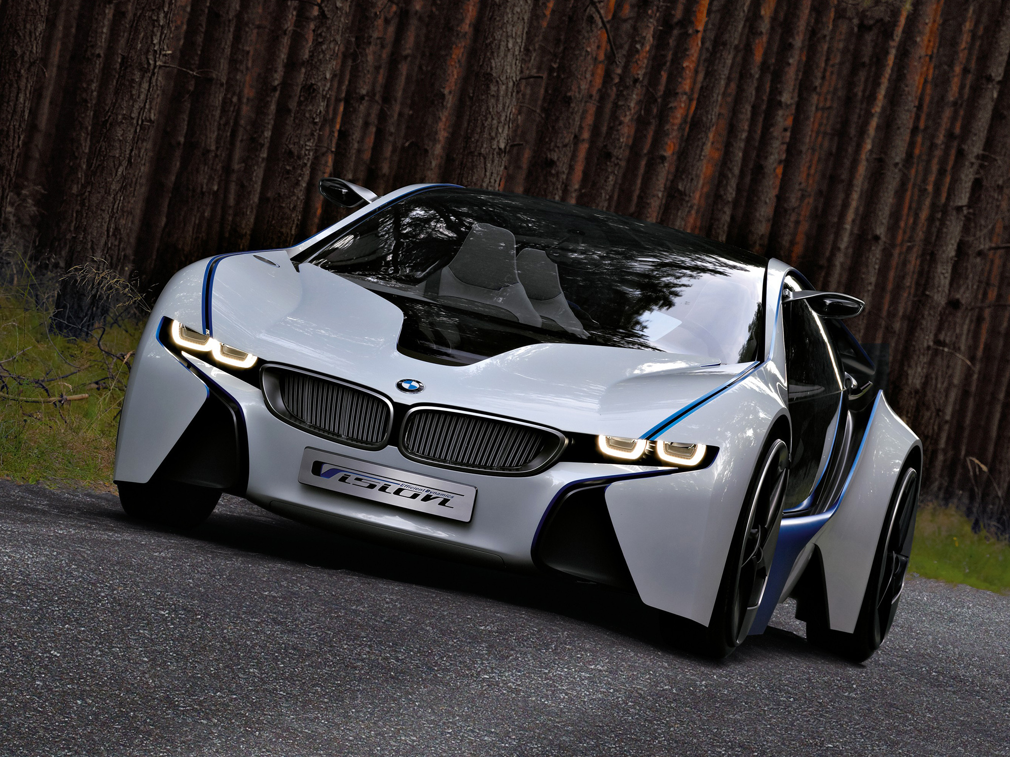112260 Screensavers and Wallpapers Front View for phone. Download Bmw, Cars, Front View, Concept, Vision, Efficientdynamics pictures for free