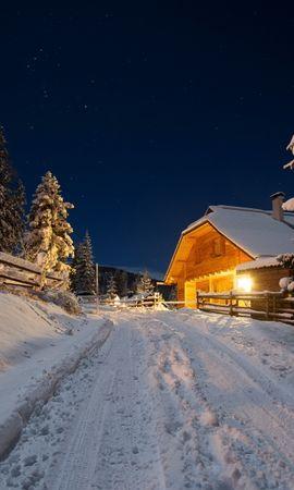 40311 скачать обои Пейзаж, Зима, Дороги - заставки и картинки бесплатно