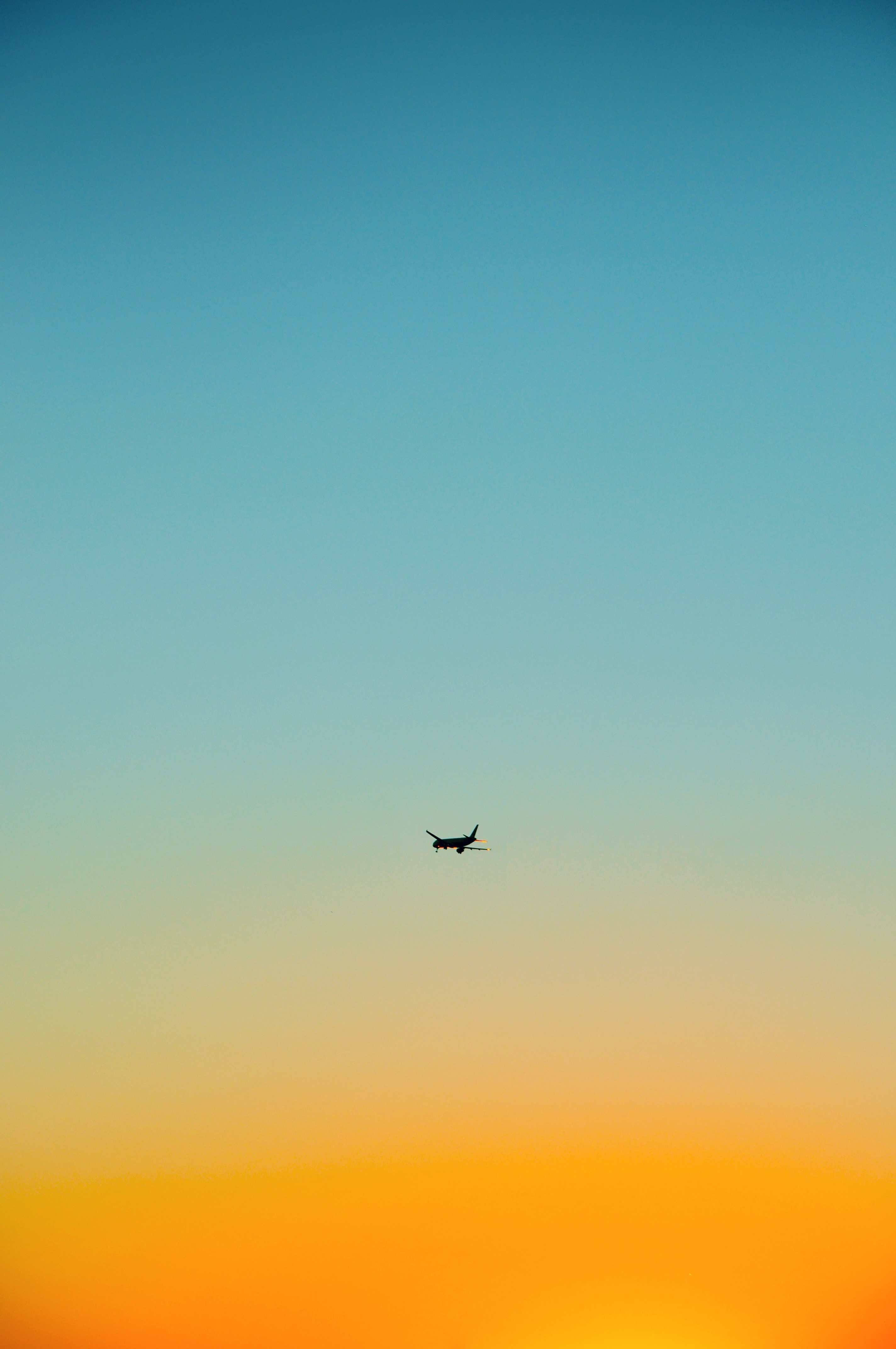 120086 Screensavers and Wallpapers Flight for phone. Download Sky, Minimalism, Flight, Plane, Airplane pictures for free
