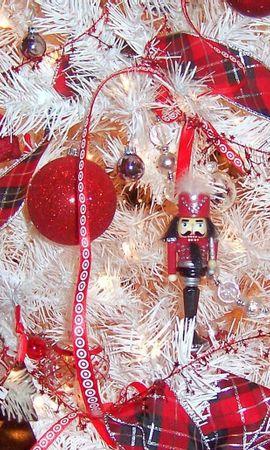 134247 descargar fondo de pantalla Vacaciones, Decoraciones De Navidad, Juguetes De Árbol De Navidad, Cinta, Decoraciones, Pelotas, Bolas, Árbol De Navidad: protectores de pantalla e imágenes gratis