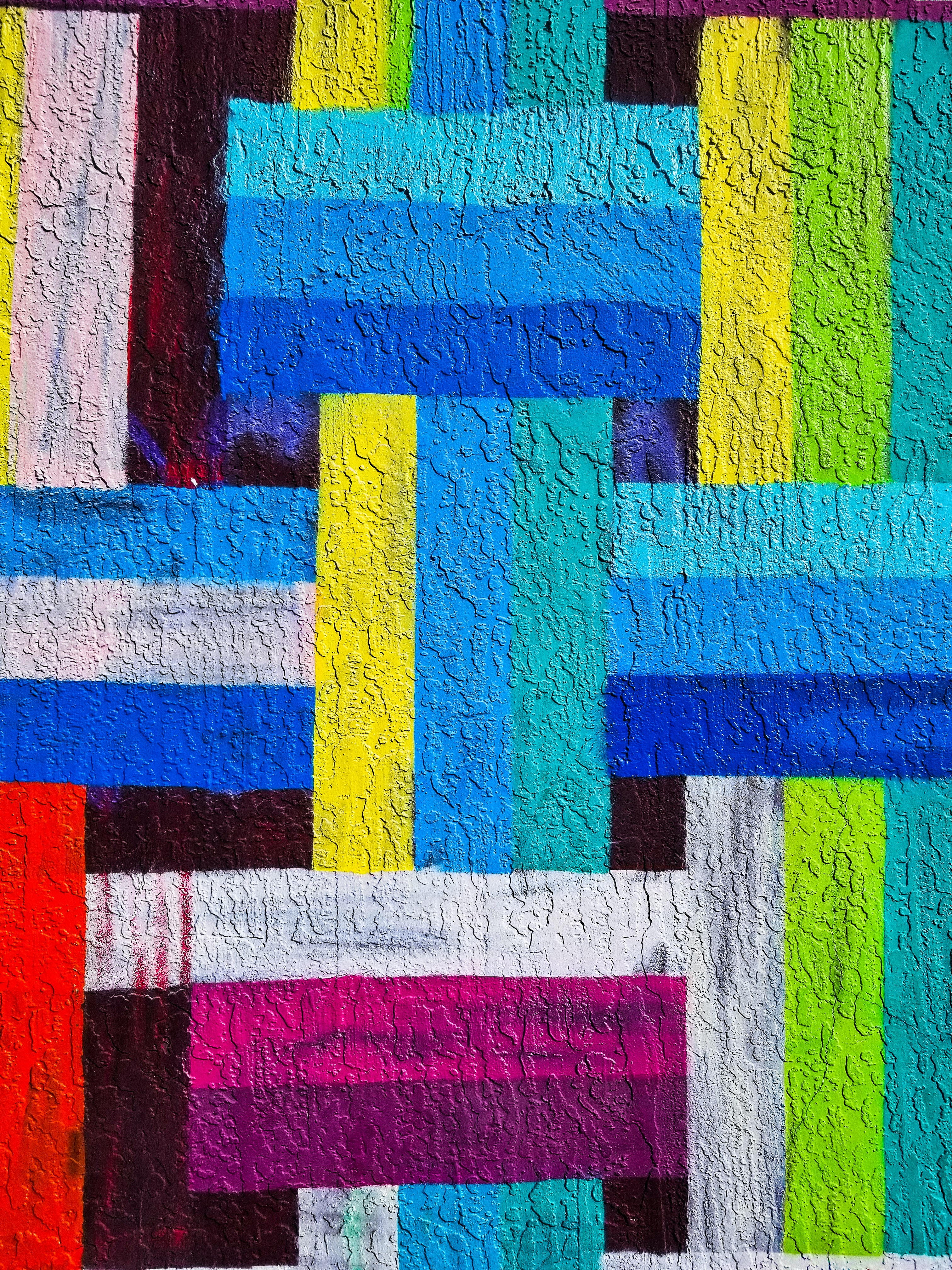 133430 download wallpaper Abstract, Lines, Stripes, Streaks, Multicolored, Motley, Paint, Wall screensavers and pictures for free
