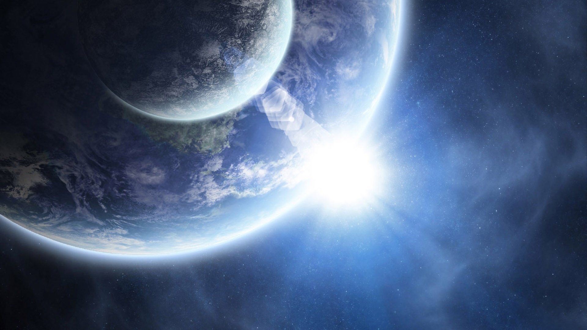 46720 download wallpaper Landscape, Planets, Universe screensavers and pictures for free