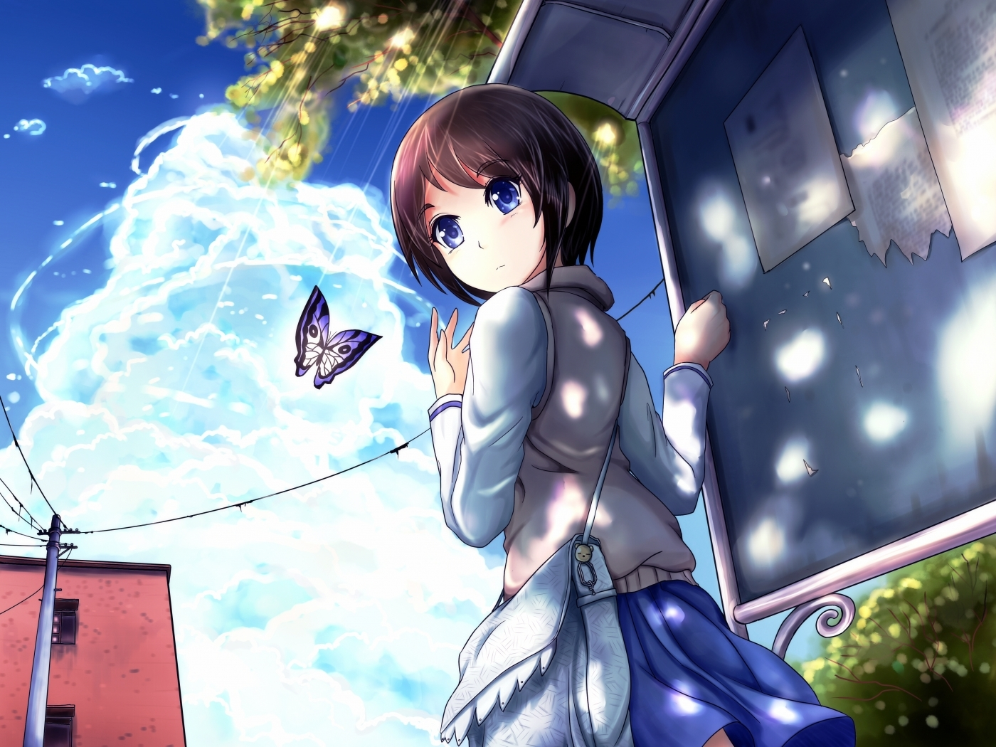 39970 download wallpaper Anime, Girls screensavers and pictures for free