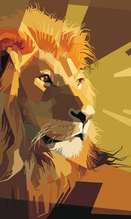 74159 économiseurs d'écran et fonds d'écran Vecteur sur votre téléphone. Téléchargez Vecteur, Un Lion, Lion, Art, Lignes, Rayures, Stries images gratuitement