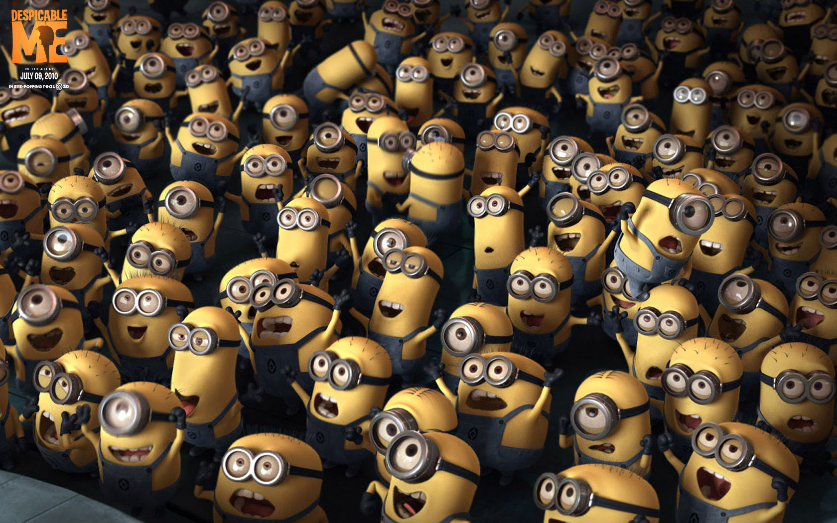 16356 download wallpaper Cartoon, Background, Despicable Me screensavers and pictures for free