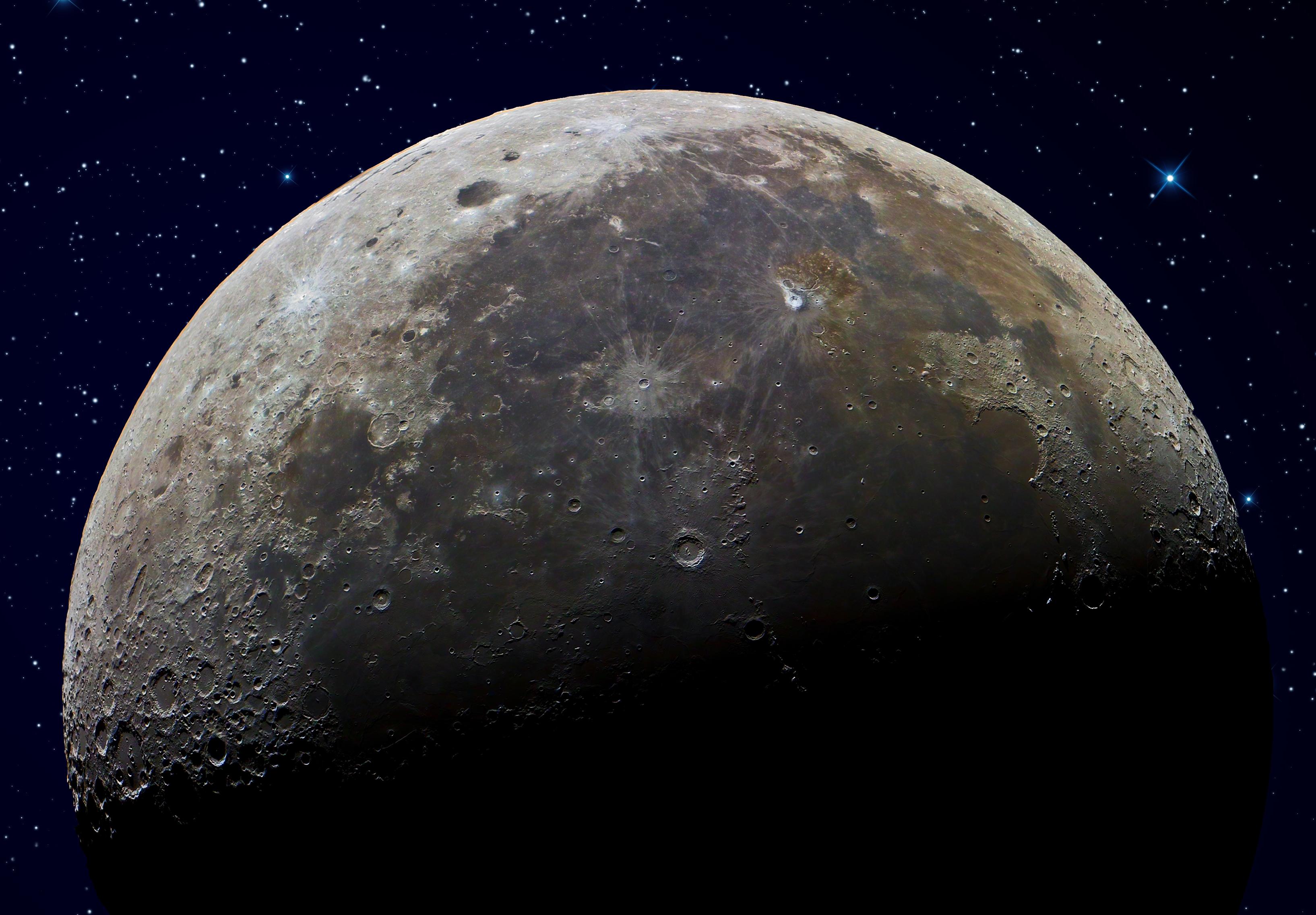 20430 скачать обои Пейзаж, Космос, Луна - заставки и картинки бесплатно