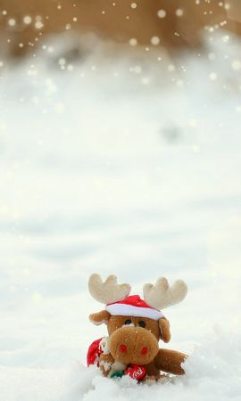 22590 скачать обои Праздники, Новый Год (New Year), Игрушки, Снег, Рождество (Christmas, Xmas) - заставки и картинки бесплатно