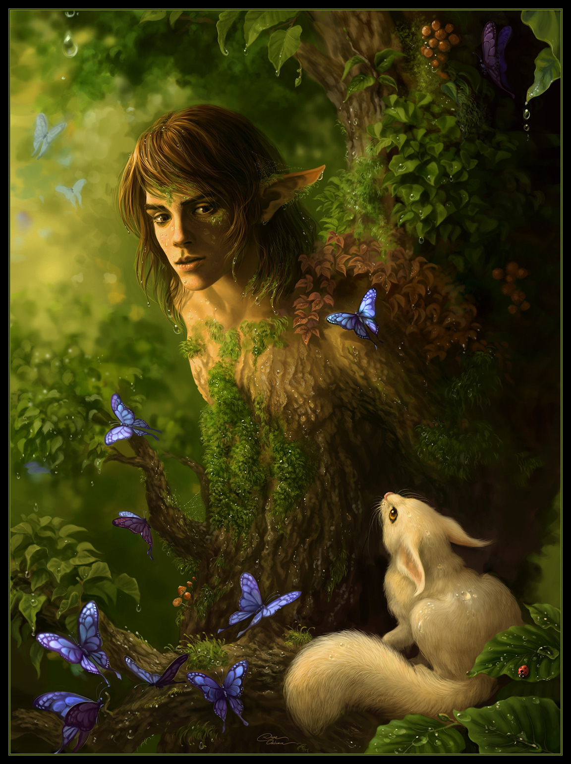 21940 download wallpaper Men, Animals, Fantasy, Pictures screensavers and pictures for free