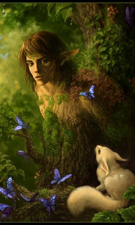 21940 download wallpaper Animals, Fantasy, Men, Pictures screensavers and pictures for free