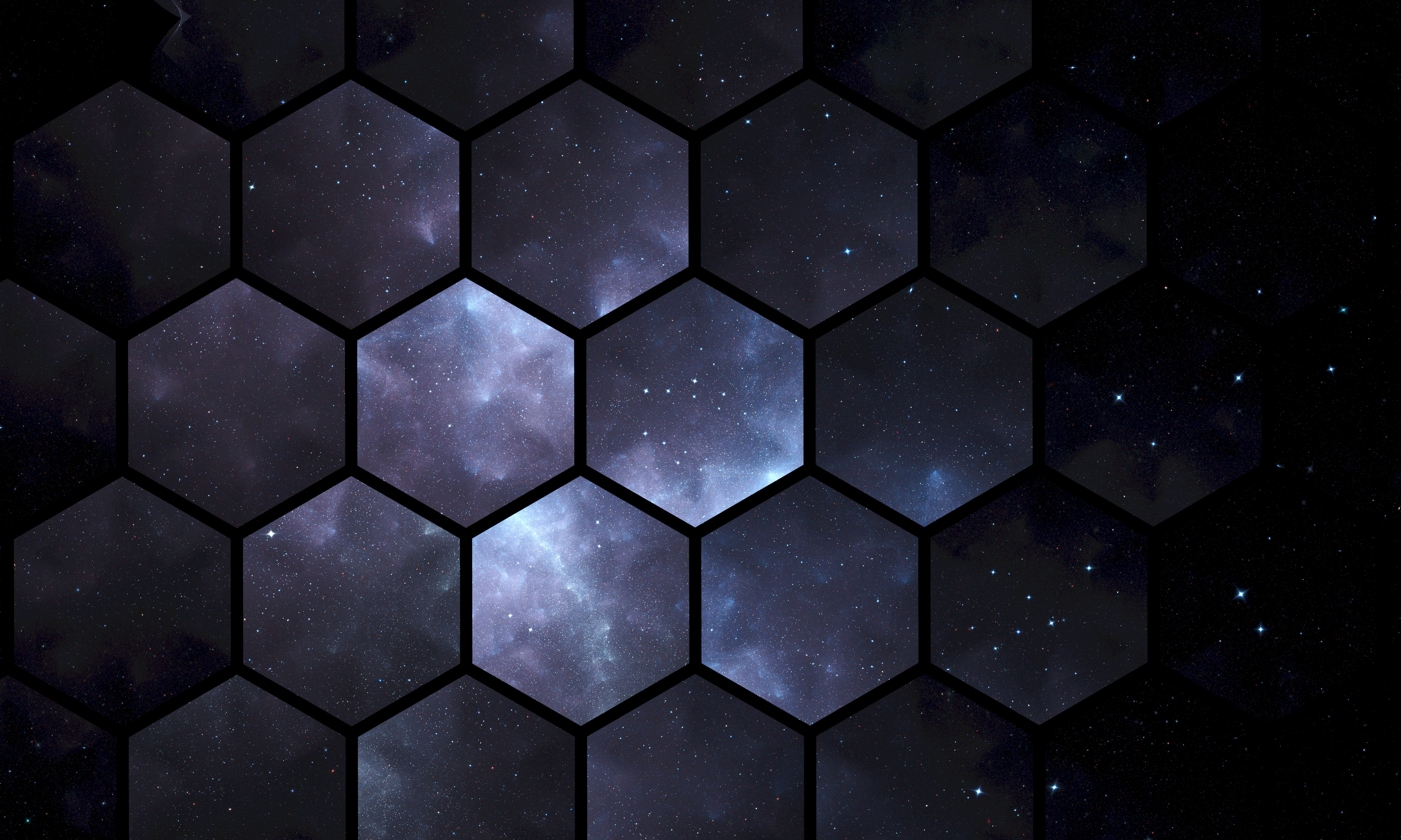 99877 download wallpaper Textures, Texture, Hexagons, Universe, Patterns screensavers and pictures for free