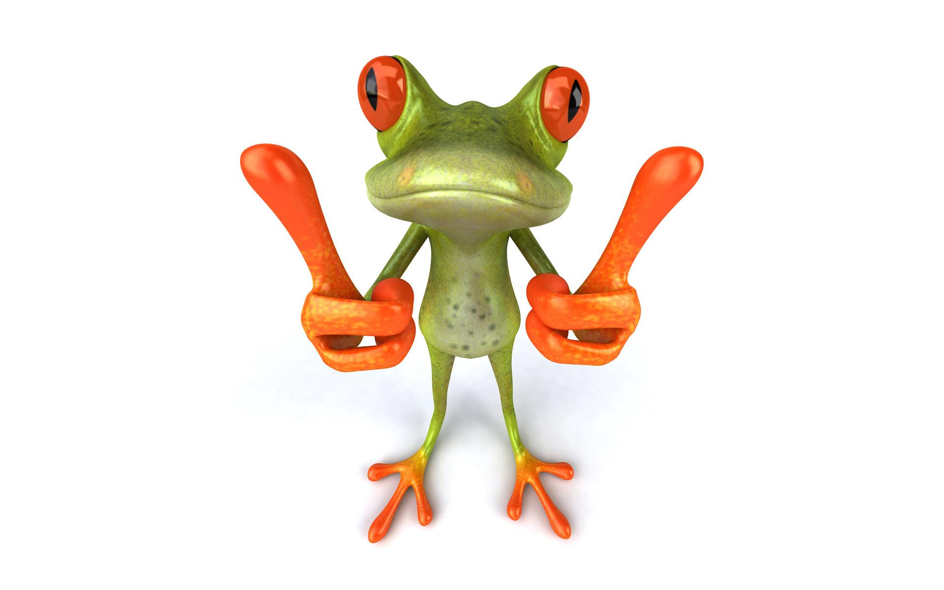 12975 Hintergrundbild herunterladen Humor, Tiere, Frösche - Bildschirmschoner und Bilder kostenlos