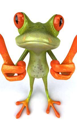 12975 baixar papel de parede Engraçado, Animais, Frogs - protetores de tela e imagens gratuitamente
