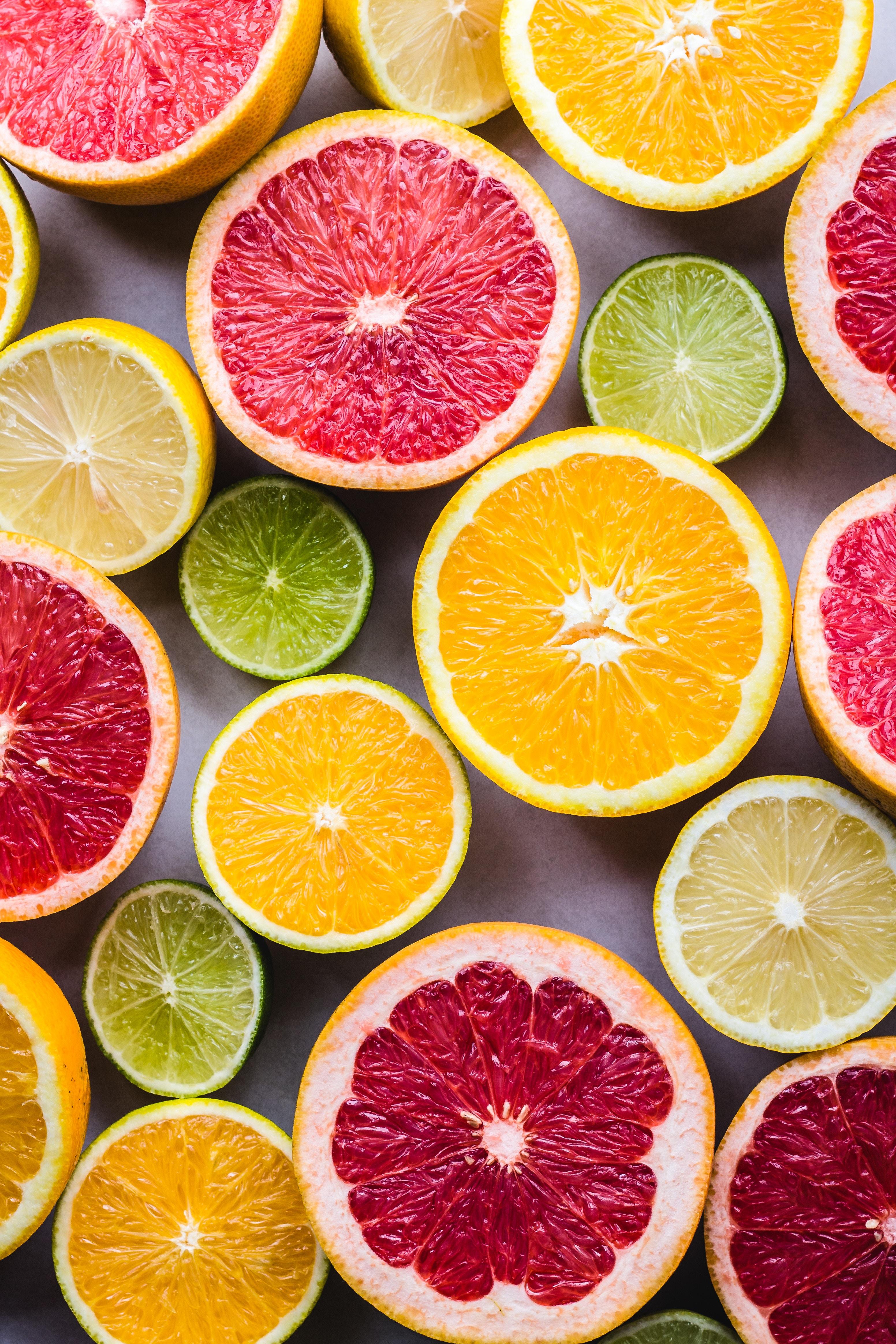 131912 скачать обои Фрукты, Лимоны, Цитрус, Еда, Апельсины, Лаймы, Грейпфруты - заставки и картинки бесплатно