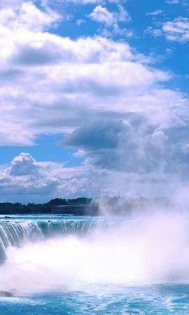 6417 скачать обои Пейзаж, Водопады - заставки и картинки бесплатно