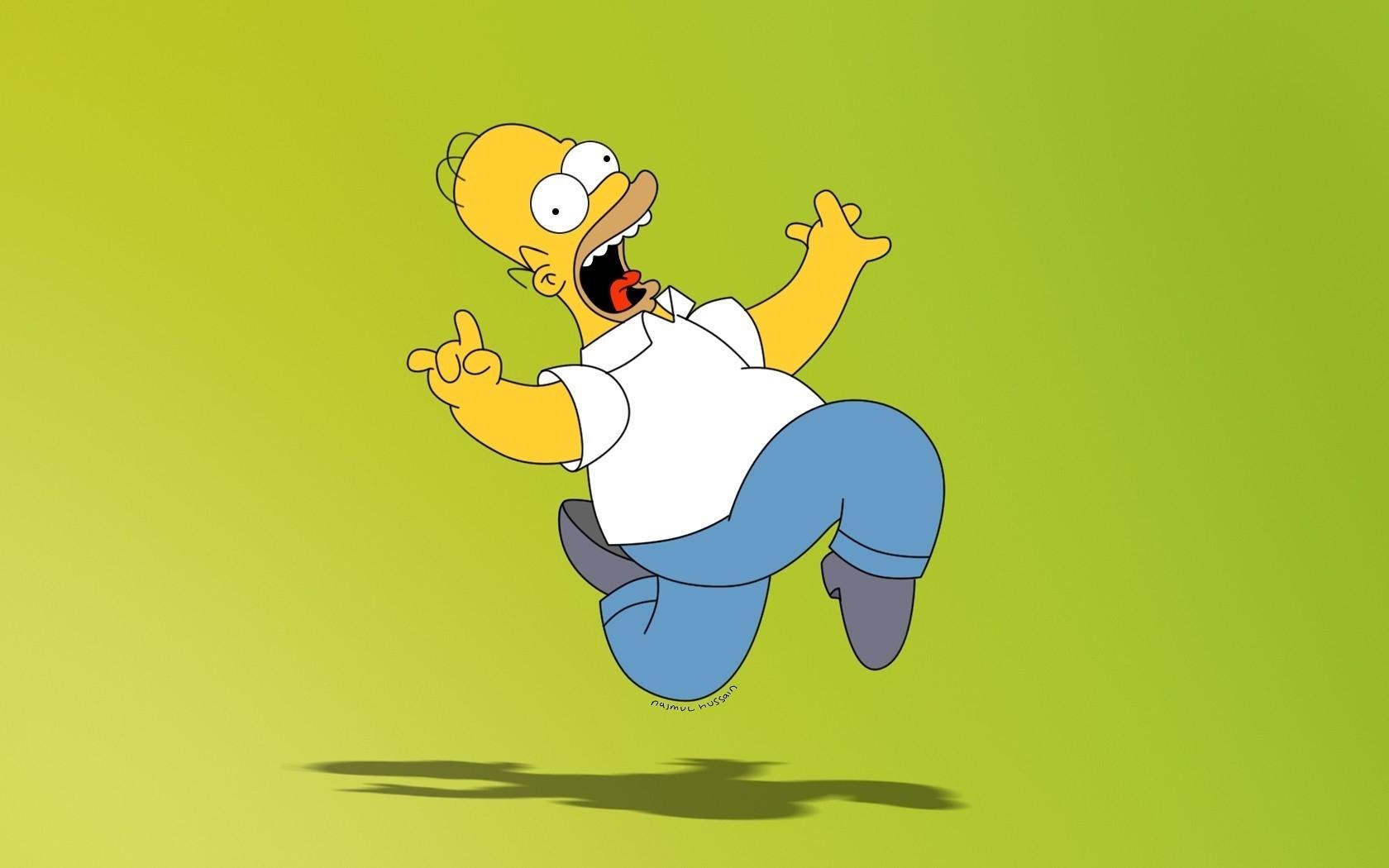 24399 Hintergrundbild herunterladen Cartoon, Homer Simpson, Die Simpsons - Bildschirmschoner und Bilder kostenlos
