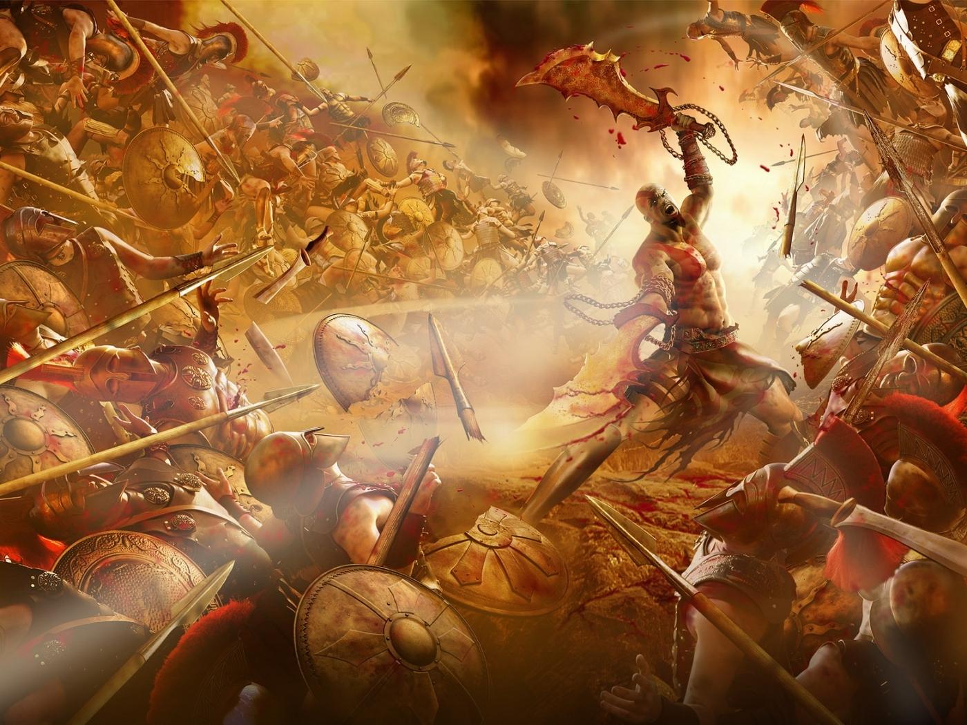 3942 baixar papel de parede God Of War, Jogos - protetores de tela e imagens gratuitamente