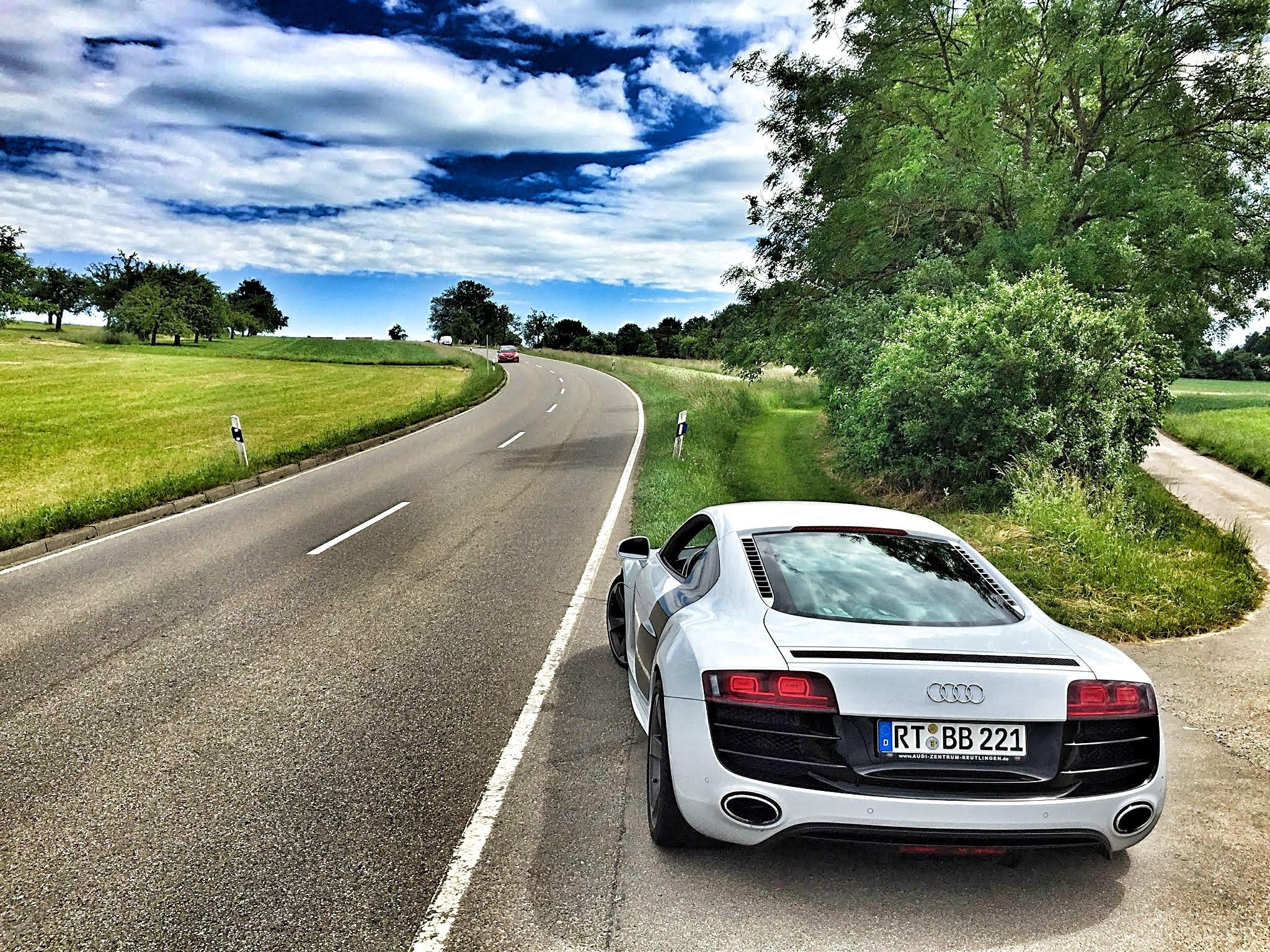 148557 descargar fondo de pantalla Coches, Audi, R8, V10, Vista Trasera: protectores de pantalla e imágenes gratis