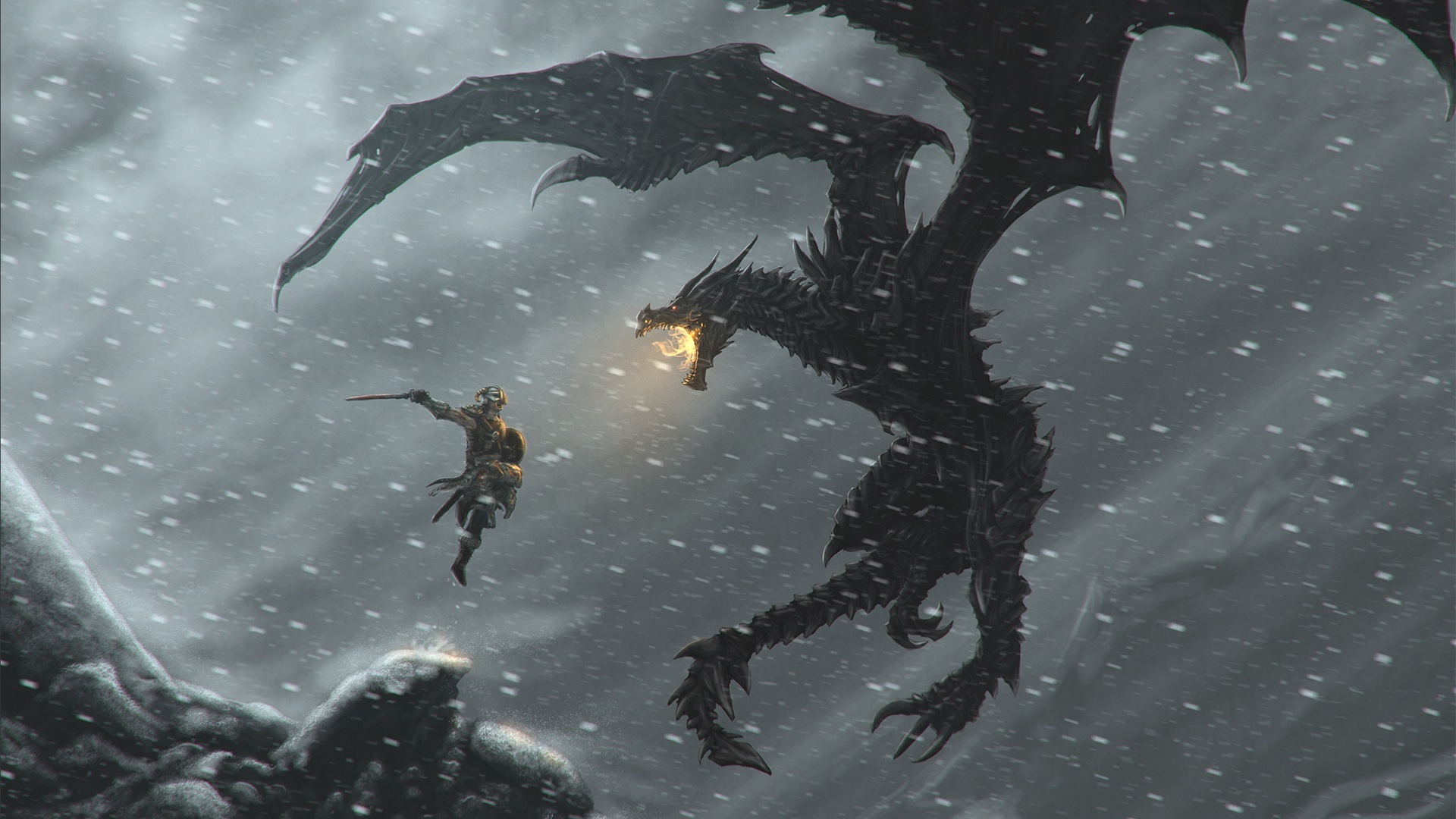 22991 download wallpaper Games, Dragons, Elder Scrolls screensavers and pictures for free