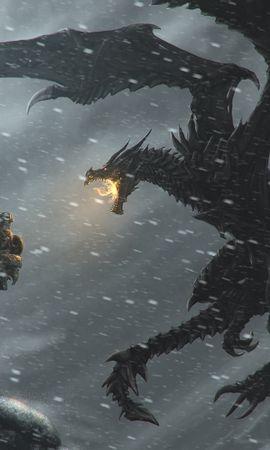 22991 télécharger le fond d'écran Jeux, Dragons, Elder Scrolls - économiseurs d'écran et images gratuitement