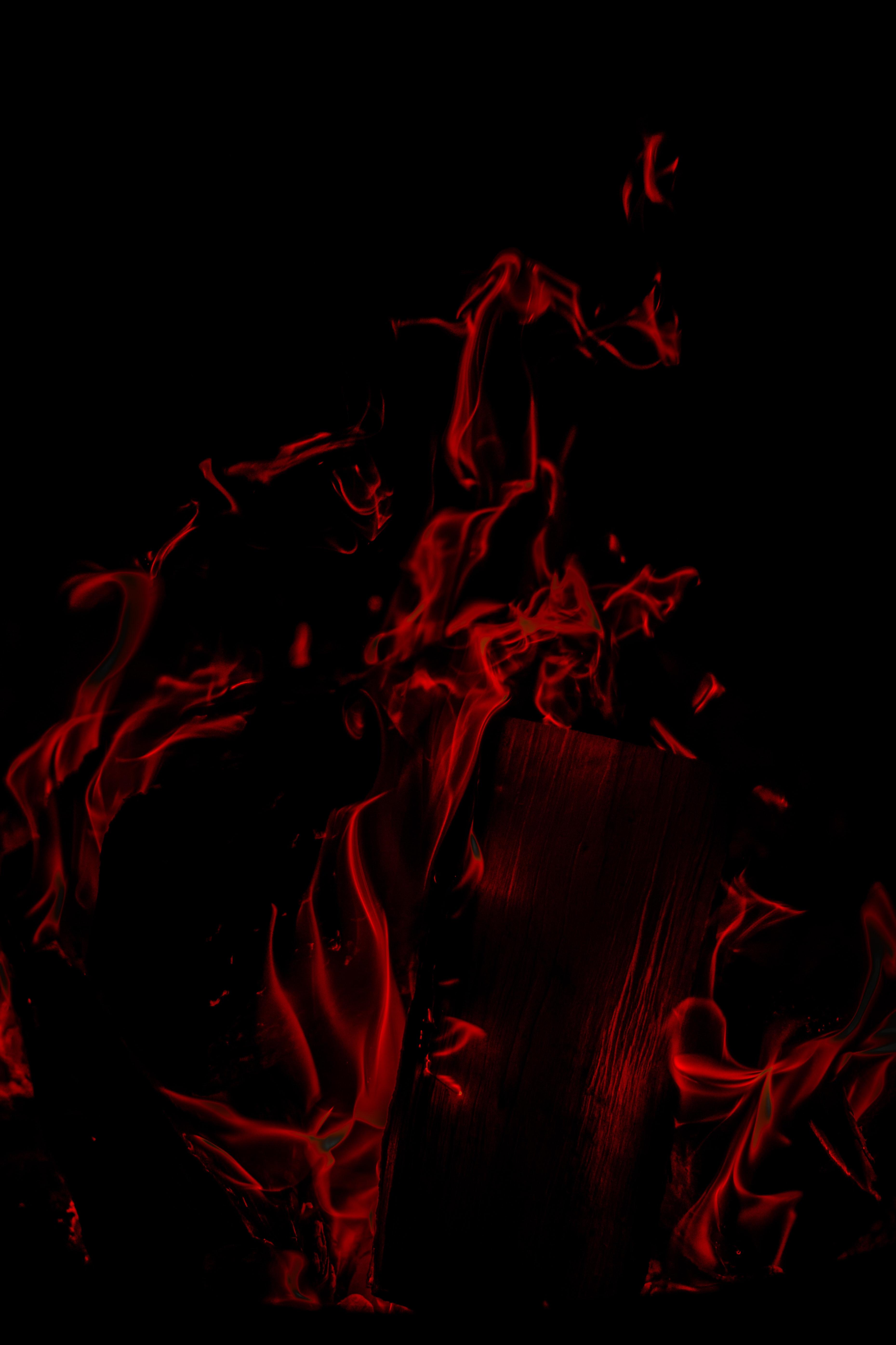 121727 免費下載壁紙 黑暗的, 黑暗, 火焰, 火, 红色的 屏保和圖片