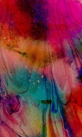 144301 télécharger le fond d'écran Abstrait, Peindre, Peinture, Taches, Divorces, Gouttes, Couler - économiseurs d'écran et images gratuitement