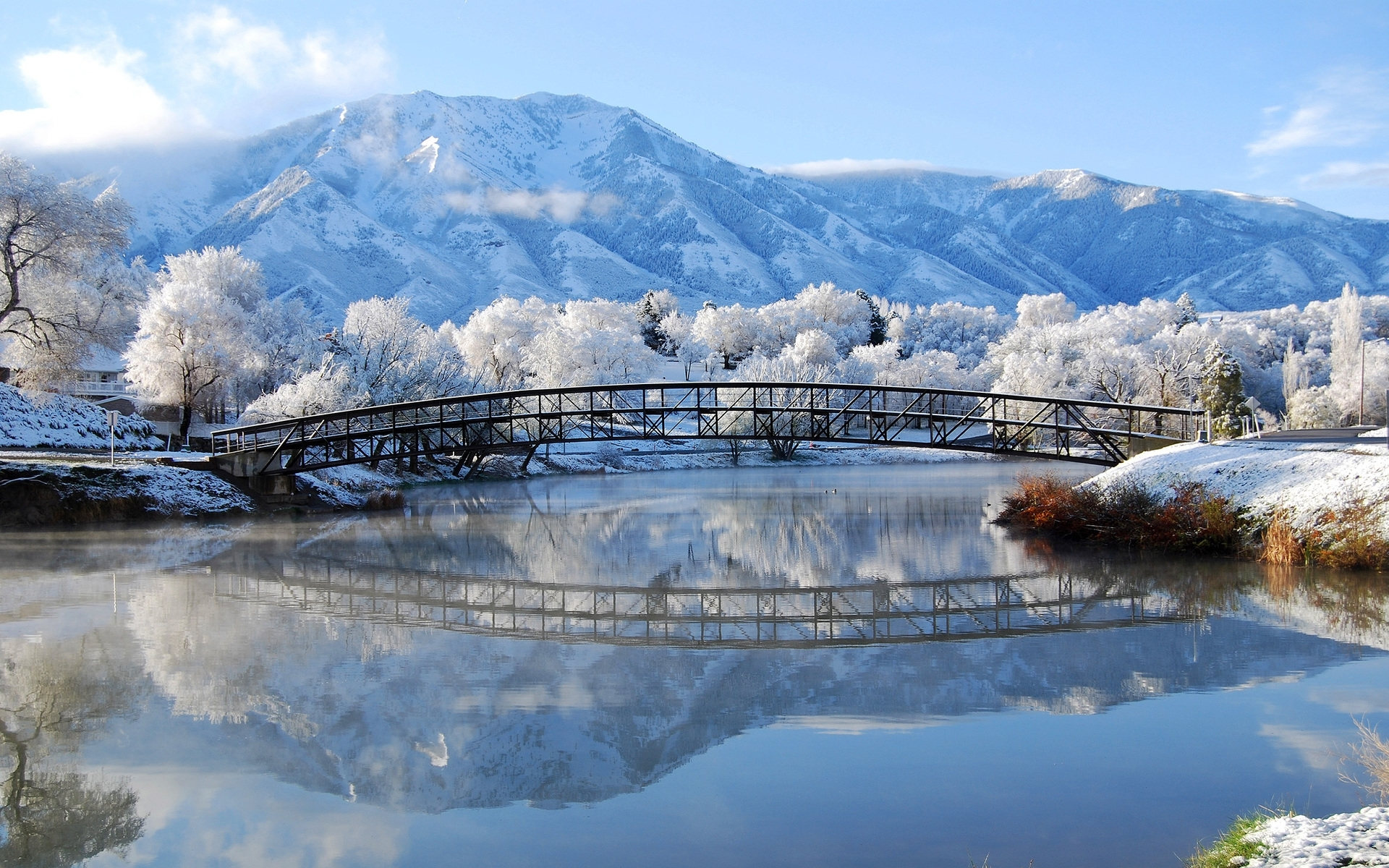 45055 download wallpaper Landscape, Winter, Nature screensavers and pictures for free