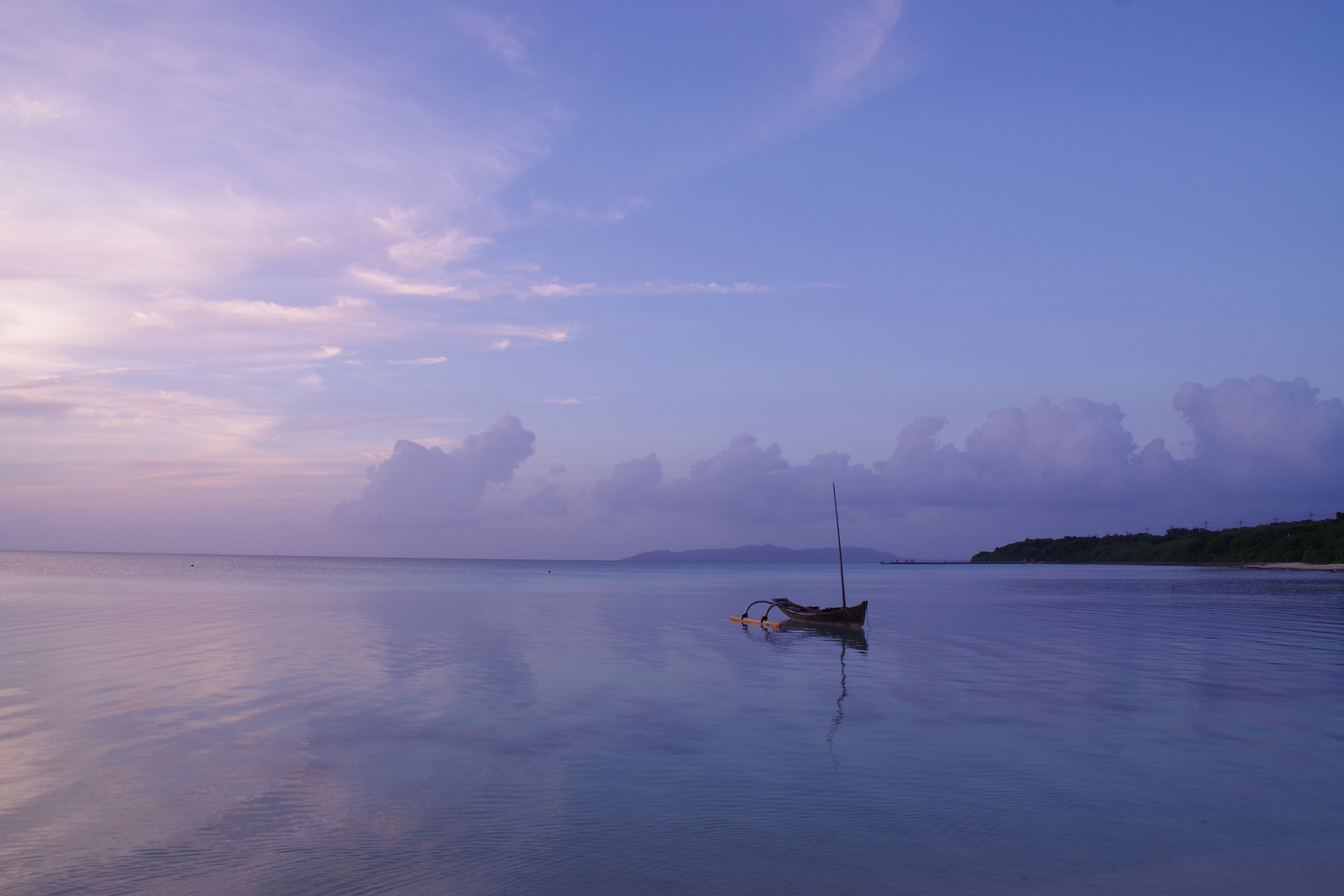 156575 Screensavers and Wallpapers Boat for phone. Download Nature, Sunset, Sea, Horizon, Boat, Alone, Lonely pictures for free