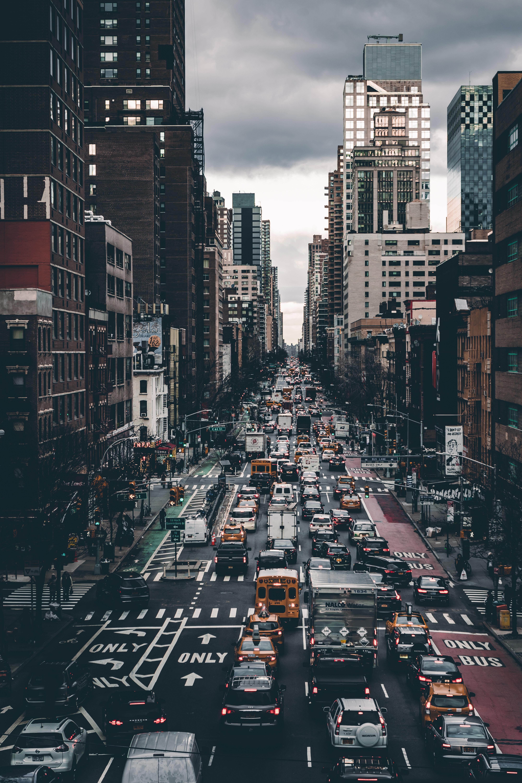 144059 скачать обои Транспорт, Города, Город, Здания, Движение, Улица - заставки и картинки бесплатно