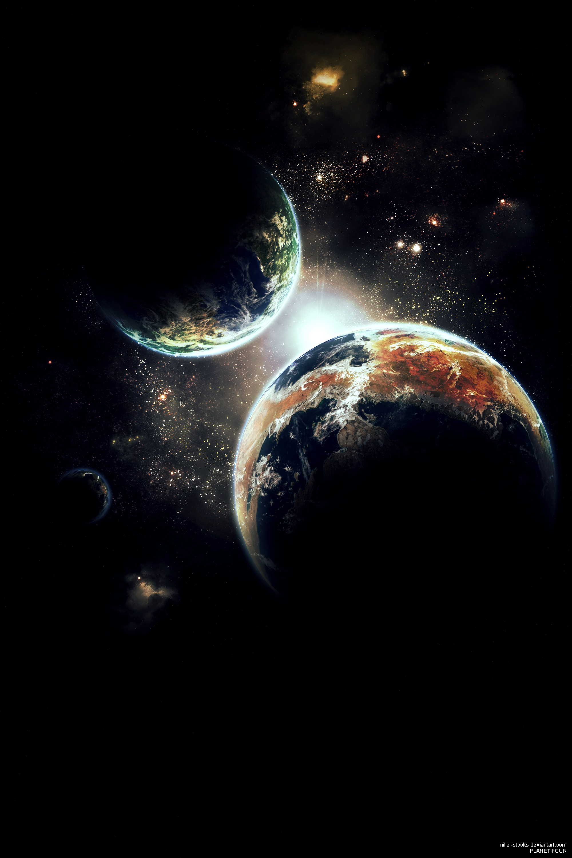 157139 download wallpaper Universe, Shining, Flash, Galaxy, Dark, Stars, Planets screensavers and pictures for free